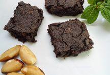 Brownie com castanha-do-pará