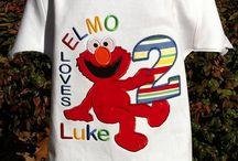Boys Elmo Birthday Party