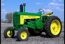Tractors / Love tractors, don't know makes and models but here are some I like