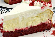 Naked red velvet cheesecake