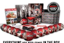 Everything you need is in the box! What you get with TapouT XT / Today's leading at-home fitness program brings top quality and affordable products to use! / by TapouT XT