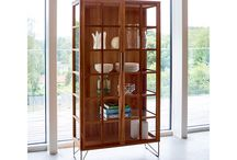 Naver Collection - Vitrines / The vitrines can be placed in many different settings like in the dining room for the storage of glass and china, in the living room or in the office with beautiful books. Use the vitrine to display what you love the most!