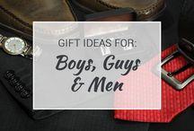 Gift Ideas for Boys, Guys & Men