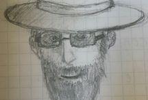 drawings in diary