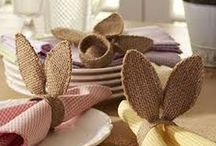 pascoa / mesas decoradas