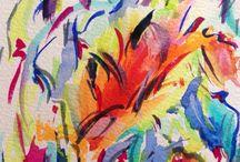 Peintures / Aquarelles