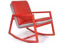 Fauteuils, rocking chair & tabourets
