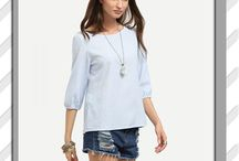 Blouses-shirt - Women's Fashion