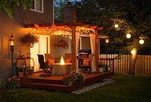 backyard ideas / by One Thrifty Chick
