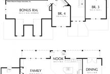 Floor Plans - 2 Stories / by Jessica Norman
