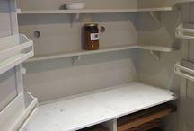 Larder shelves