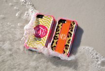 Monogrammed Otterbox Preserver iPhone 5/5s cases / Custom, Personalized Otterbox Preserver series iPhone cases at BoutiqueMe.com