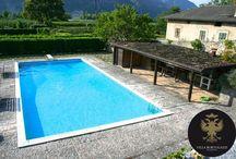La Piscina di Villa Bortolazzi / La #piscina di #Villa Bortolazzi