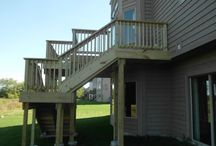 Decks, Patios, & Additions / Here are some of our customer's decks, patios, and additions that Home Services Direct have helped bring to life.