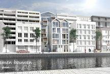global architects | CPO apartments / Global Architects BNA begeleidt en ontwerpt projecten in het Collectief Particulier Opdrachtgeverschap (CPO). De toekomstige bewoners vormen zelf een bouwgroep. Door als groep te bouwen kunt u geheel naar eigen smaak betaalbaar wonen!