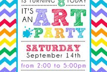 Partying with a Purpose---Art Party / by Tammy Vander Heide