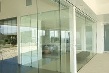 seamless glass doors