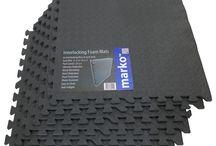 Foam Floor Mats Tiles Sound Proufing Gym Workout Safe Home Play Garage Work Shop
