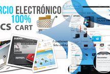 Diseño Tienda Online CS-Cart en España  / CS-Cart es la mejor solución para crear un sitio web de comercio electrónico de cualquier tamaño: desde una pequeña tienda virtual hasta un centro comercial virtual.
