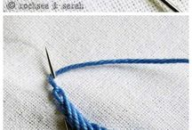 broderies: stitches / by Elizabeth Flanagan