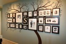 rodinný strom - dekorace