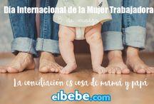 Conciliación / Artículos sobre los derechos de mujeres y niños, el reparto de tareas entre madres y padres y los avances  en materia de conciliación familiar