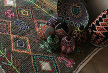 Moroccan rugs&pillows