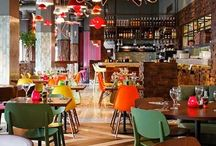 funky restaurants / restaurant interiors
