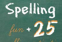 Homeschool: Spelling / by Shaela