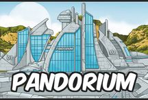 Pandorium preview / Erotic flash game. Build a colony and bring up new kinds of creatures.
