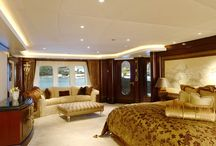 Mega yacht interior design