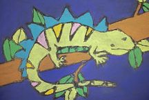 ANIMALS...Lizards / by Judy O