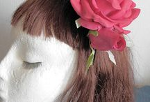 Indrolita - Headdresses , Tocados / Headdresses made by Indrolita  www.indrolita.com