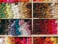 Yarn shop / by The Black Purl
