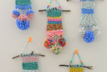 Weaving and Knotting / woven and macrame projects