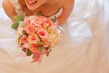 Beautiful Bouquets / assorted silks and fresh cut flowers with Props Floral and Emma Rose Photography