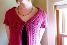 Knitting:  Sweaters / by Sharlene Immel