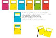 Reclams Universal-Notizbuch / Klassisch in gelb, so kennen Sie es. Doch nun gibt es das Notizbuch in allen 6 Farben der Universal Bibliothek! Der besondere Clou: Durch verschiedene Einsteckvarianten kann man mit allen 6 Farben 144 unterschiedliche Varianten bekommen.