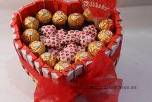 San Valentín / Detalles y regalos hechos por nosotros para regalar en San Valentín.