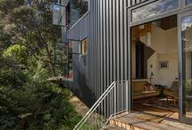 House outside / Facade, terassen, have mv.