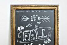 chalk art / by Amanda Stratton