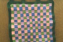 Panneaux muraux / Défis murales au crochet et au tricot
