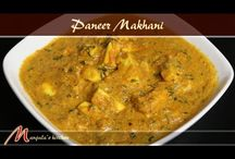 Paneer Dishes / Paneer is an Indian cheese