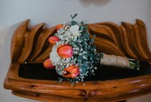ramo novia con tulipanes