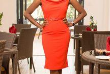 The Orange dress