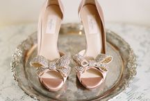 """Bridal Shoes...because they need their own board!!! / Sparkly, dreamy amazing shoes!! Although we usually say """"go for comfort"""" some of these stunners would be worth a little pain."""