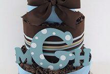 diaper cake / torte di pannolini