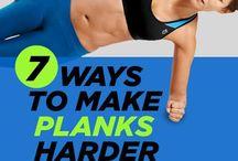 Harder plank