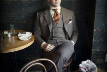 Men´s fashion / The man makes the clothing