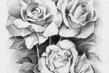 Рисунки - розы